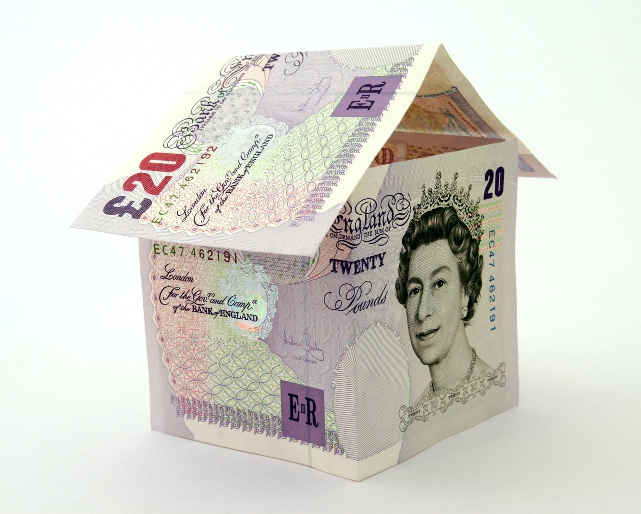 Dům z bankovek