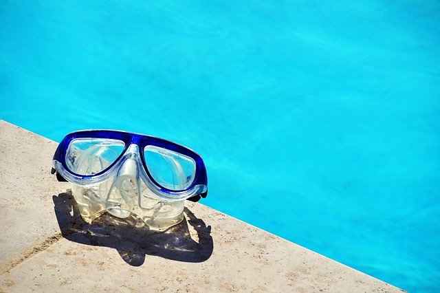 brýle pod vodu