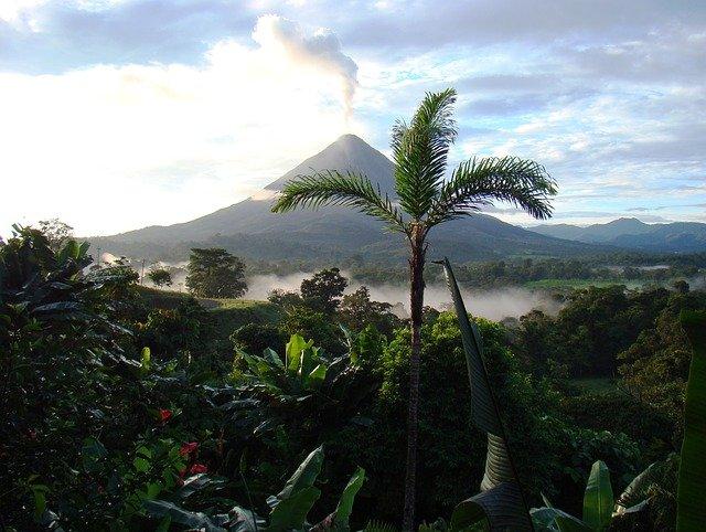 sopka na Kostarice