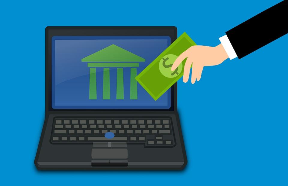 peníze a počítač